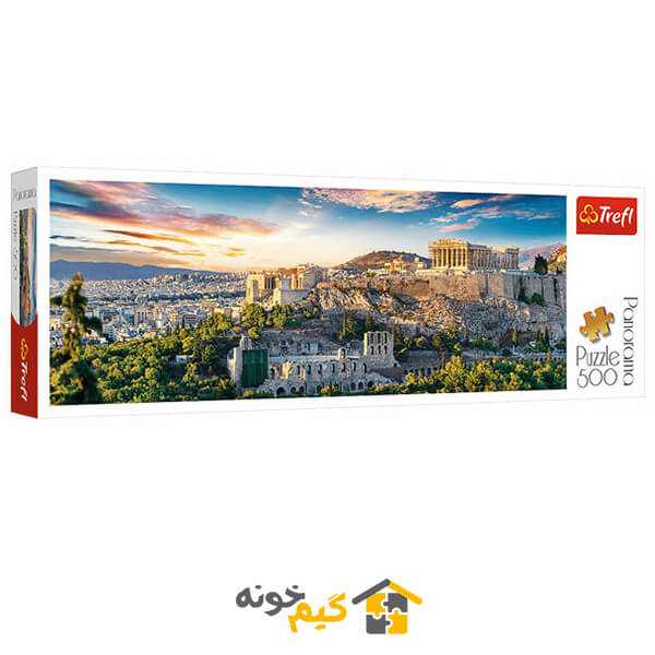 پازل acropolis-athens - پازل شهر آتن یونان