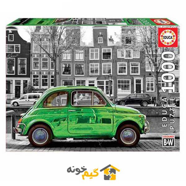 پازل ماشین در آمستردام