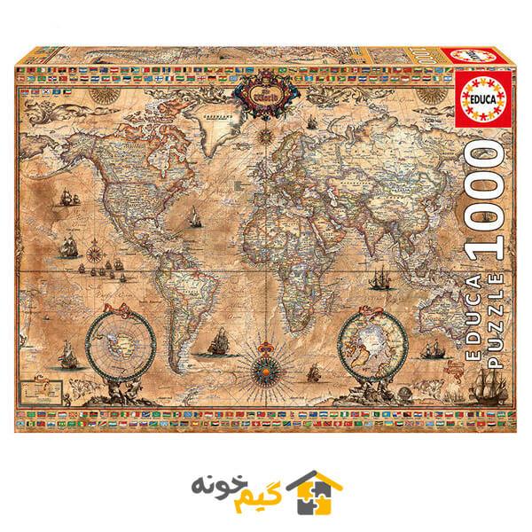 پازل جهان باستان