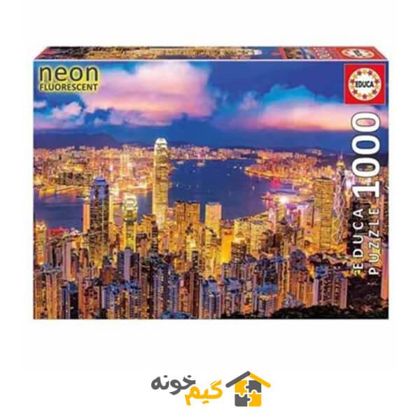 پازل 1000 تکه هنگ کنگ
