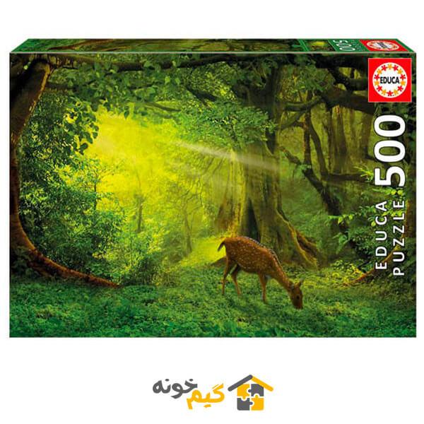 پازل آهو در جنگل
